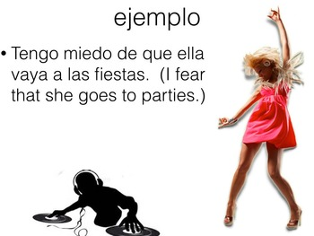 Spanish Subjunctive with Expressions of Desire Keynote Slideshow for Mac