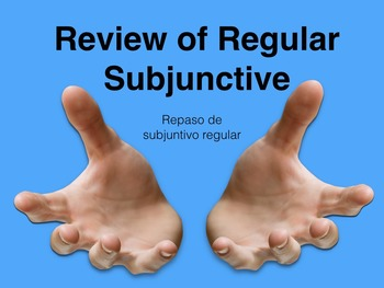 Spanish Subjunctive with Expressions of Doubt Keynote Slideshow for Mac