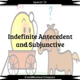 Spanish Subjunctive with Indefinite Antecedents Video Bund