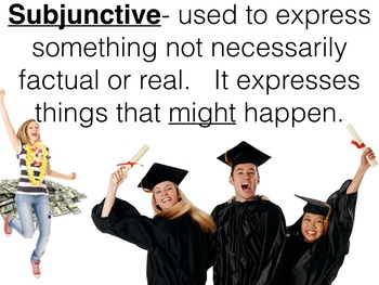 Spanish Subjunctive with Ojalá and Other Expressions PowerPoint Slideshow