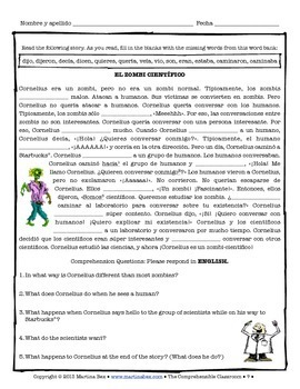 Spanish Substitute Activities Bundle: ZOMBIES - Sub plans for Spanish