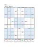 Spanish Sudoku - Interrogatives - Spanish question words -