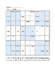 Spanish Sudoku Puzzle - subject pronoun activity ~Spanish personal pronouns
