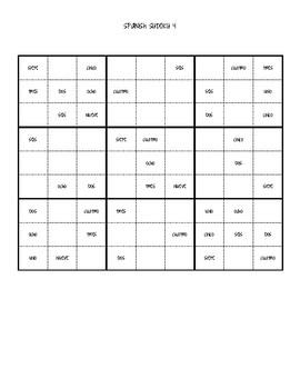 Spanish Sudoku Puzzles
