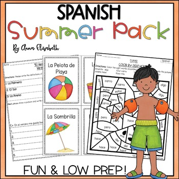 Spanish Summer Packet *Growing!*