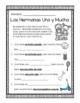 Spanish Summer Review 1st Grade No prep