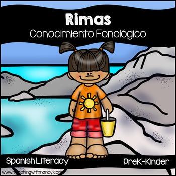 Spanish Summer Rhyming Stations