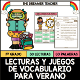 Spanish Sight Words and Fluency Passages (For Summer)