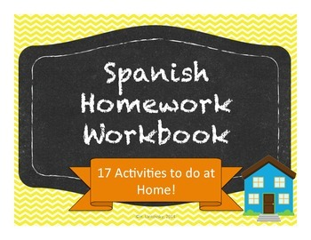 Spanish Homework Workbook