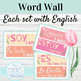 Spanish High Frequency Verbs Word Wall
