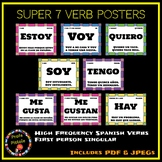 Spanish Super Seven Verb Posters