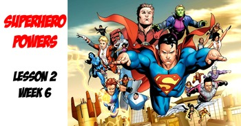 Spanish Superheroes/describing powers with poder/ intro. to stem-changing verbs