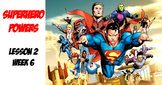 Spanish Superheroes/describing powers with poder/ intro. t