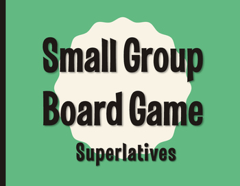 Spanish Superlatives Board Game
