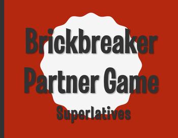 Spanish Superlatives Brickbreaker Partner Game