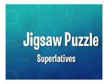 Spanish Superlatives Jigsaw Puzzle