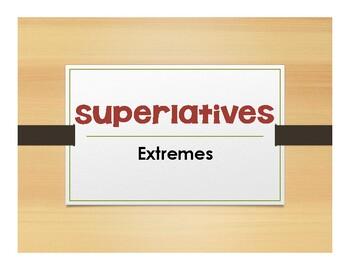 Spanish Superlatives Notes