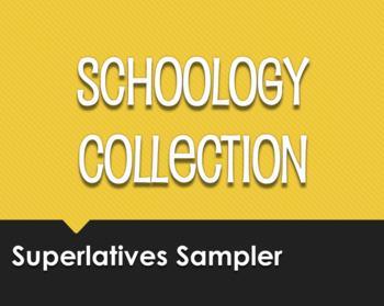 Spanish Superlatives Schoology Collection Sampler