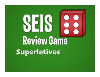 Spanish Superlatives Seis Game