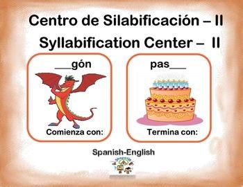 Spanish Syllabification - II / Silabificacion de Palabras - II in a Station