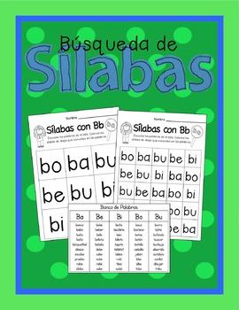 Spanish Syllable Bundle
