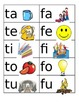 Spanish Syllable Flash Cards