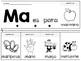Spanish Syllable Flip Book M series! Libritos de silabas con M.
