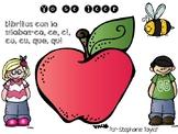 Spanish Syllable Flip book C Series! Libritos de silabas con C