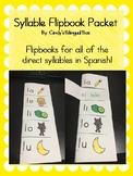 Spanish Syllable Flipbook Packet