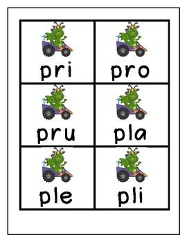 Spanish Syllable Game (Juego de Silabas Parte 2)