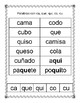 Spanish Syllable Hard Cc_Qq Word Sort