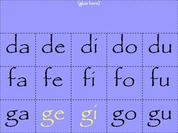 Spanish Syllable Posters (Purple)/Carteles de sílabas (Morado)