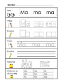 Spanish Syllable Practice Bundle