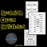 Reading Spanish Syllables (Sílabas)