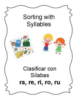 Spanish Syllable Rr Word Sort