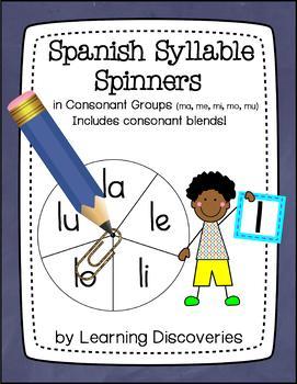 Spanish Syllable Spinners - Gira las Sílabas