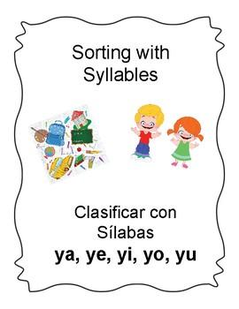Spanish Syllable Yy Word Sorts