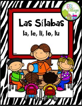 Las Sílabas la, le, li, lo, lu