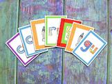 Spanish Syllables Card Game - CGR - Juego de cartas de sílabas en español
