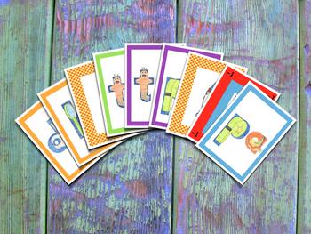 Spanish Syllables Card Game - DFLPT - Juego de cartas de sílabas en español