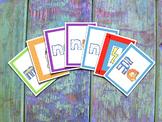 Spanish Syllables Card Game - MNÑ - Juego de cartas de sílabas en español