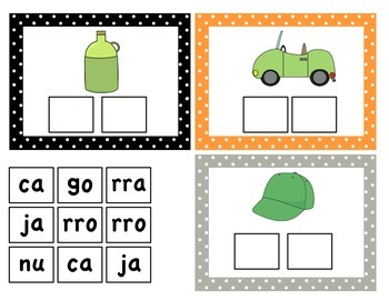 Spanish Syllables Game