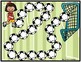 Spanish Syllables Practice ~ Soccer Themed Game Boards