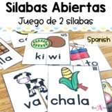 Spanish Syllables Puzzles | Word Work Activity
