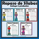 Spanish Syllables RTI Activities BUNDLE