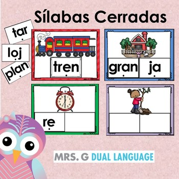 Sílabas cerradas Spanish Closed Syllables