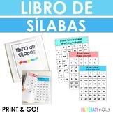 Spanish Syllables Booklet w Cover Page! Sílabas directas! Sílabas trabadas!