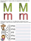 Spanish Syllables by Consonants - M P