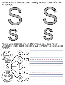 Spanish Syllables by Consonants - M, P, S, T, F, L, N, and D