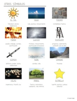 Symbolism (Spanish Version) – Projects, Activities, Handouts, Lessons
